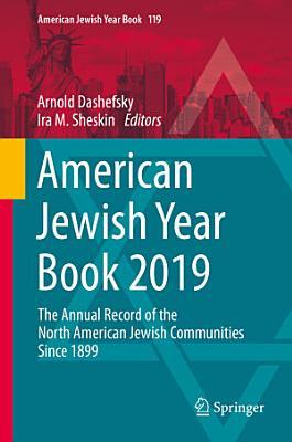 American Jewish Year Book 2019