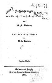 Aufzeichnungen von Cornhill nach Gross-Cairo: Band 2