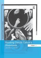 Reading Claude Cahun s Disavowals PDF