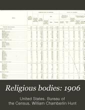 Religious Bodies: 1906: Part 2
