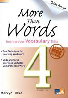More Than Words Secondary 4 PDF