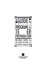 A Guide to College Programs in Teacher Preparation PDF