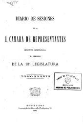 Diario de sesiones: Volúmenes 38-39