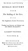 T  Livius s Roman History from the Building of the City  with the Supplement of J  Freinsheim  Translated Into English      with Notes  Etc PDF