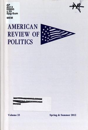 American Review of Politics PDF