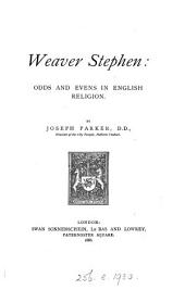 Weaver Stephen: Odds and Evens in English Religion