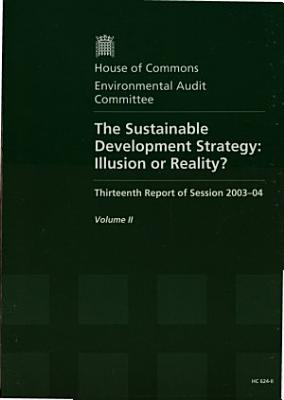 The Sustainable Development Strategy  Written and oral evidence PDF