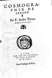Cosmographie de Levant