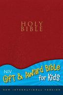 Gift and Award Bible for Kids NIV PDF