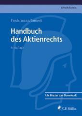 Handbuch des Aktienrechts: Ausgabe 9