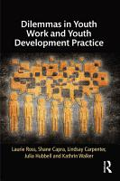 Dilemmas in Youth Work and Youth Development Practice PDF