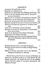 The Statistical Account of Scotland: Drawn Up from the Communications of the Ministers of the Different Parishes, Volume 21