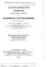 L'espagnolette de Saint-Leu: calcul rationnel de probabilités sur la fin tragique de S. A. S. Mgr le duc de Bourbon, prince de Condé