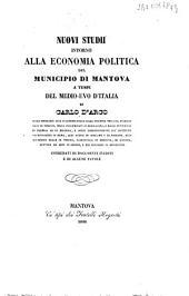 Nuovi studi intorno alla economia politica del Municipio di Mantova a' tempi del Medio Evo d'Italia