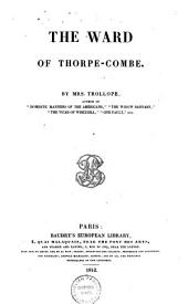 The Ward of Thorpe-Combe ...