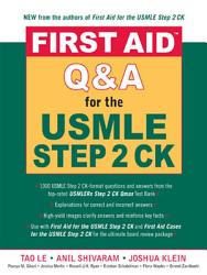 First Aid Q A For The Usmle Step 2 Ck Book PDF