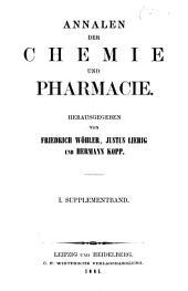Annalen der Chemie und Pharmacie: vereinigte Zeitschrift des Neuen Journals der Pharmacie für Ärzte, Apotheker und Chemiker u. des Magazins für Pharmacie und Experimentalkritik, Band 1