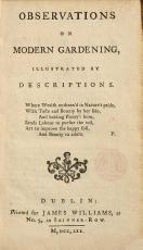 Observations on Modern Gardening  Illustrated by Descriptions PDF