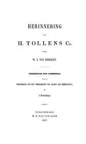 Herinnering aan H. Tollens Cz