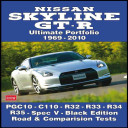 Nissan Skyline GT R Ultimate Portfolio 1969 2010
