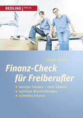 Finanz-Check für Freiberufler: weniger Steuern mehr Gewinn, optimale Abschreibung