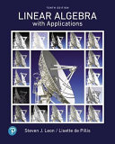 Pearson Etext Linear Algebra with Applications    Access Card PDF