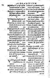 Summula Caietani, S. Xysti Cardinalis Illustriss. Ord. Praedicat. Perquam docta, compendiosè resoluta, atq[ue] secundùm S. sancti oecumenici et generalis Concilij Tridentini, et canones, et capita castigatissima...