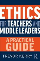 Ethics for Teachers and Middle Leaders PDF