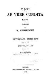 T. Livi Ab urbe condita libri: Bände 3-4
