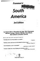 Frommer s South America PDF