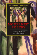 The Cambridge Companion to Modernist Poetry PDF