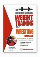 The Ultimate Guide to Weight Training for Wrestling PDF
