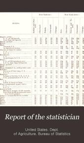 Report of the Statistician: Issues 19-35