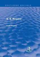V  S  Naipaul  Routledge Revivals  PDF