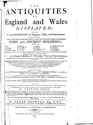 The Antiquities of England and Wales Displayed PDF