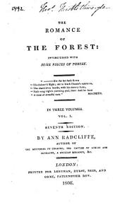The romance of the forest: interspersed with some pieces of poetry, Volume 1