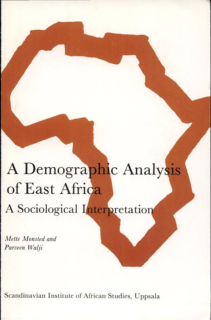 A Demographic Analysis of East Africa