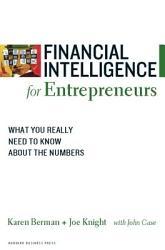 Financial Intelligence for Entrepreneurs PDF