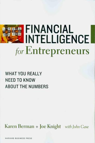 Financial Intelligence for Entrepreneurs PDF