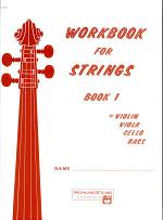 Workbook for Strings, Bk 1: Violin