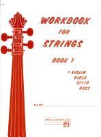 Workbook for Strings  Bk 1  Violin PDF
