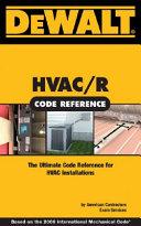 Hvac Code Reference Book PDF