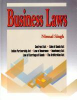 Business Laws PDF