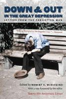 Down   Out in the Great Depression PDF