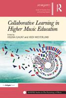 Collaborative Learning in Higher Music Education PDF