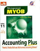 Menguasai Myob Versi 11 Jilid 1 PDF