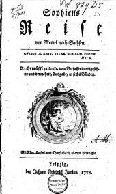 Sophiens Reise von Memel nach Sachsen: Band 1