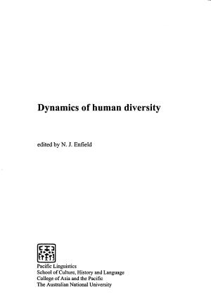 Dynamics of Human Diversity PDF