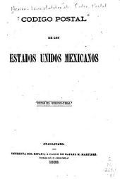 Codigo postal de los Estados unidos mexicanos ...