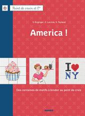 America !: Des centaines de motifs à broder au point de croix
